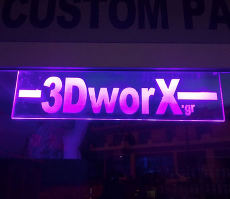 Plexiglass / Led Signs